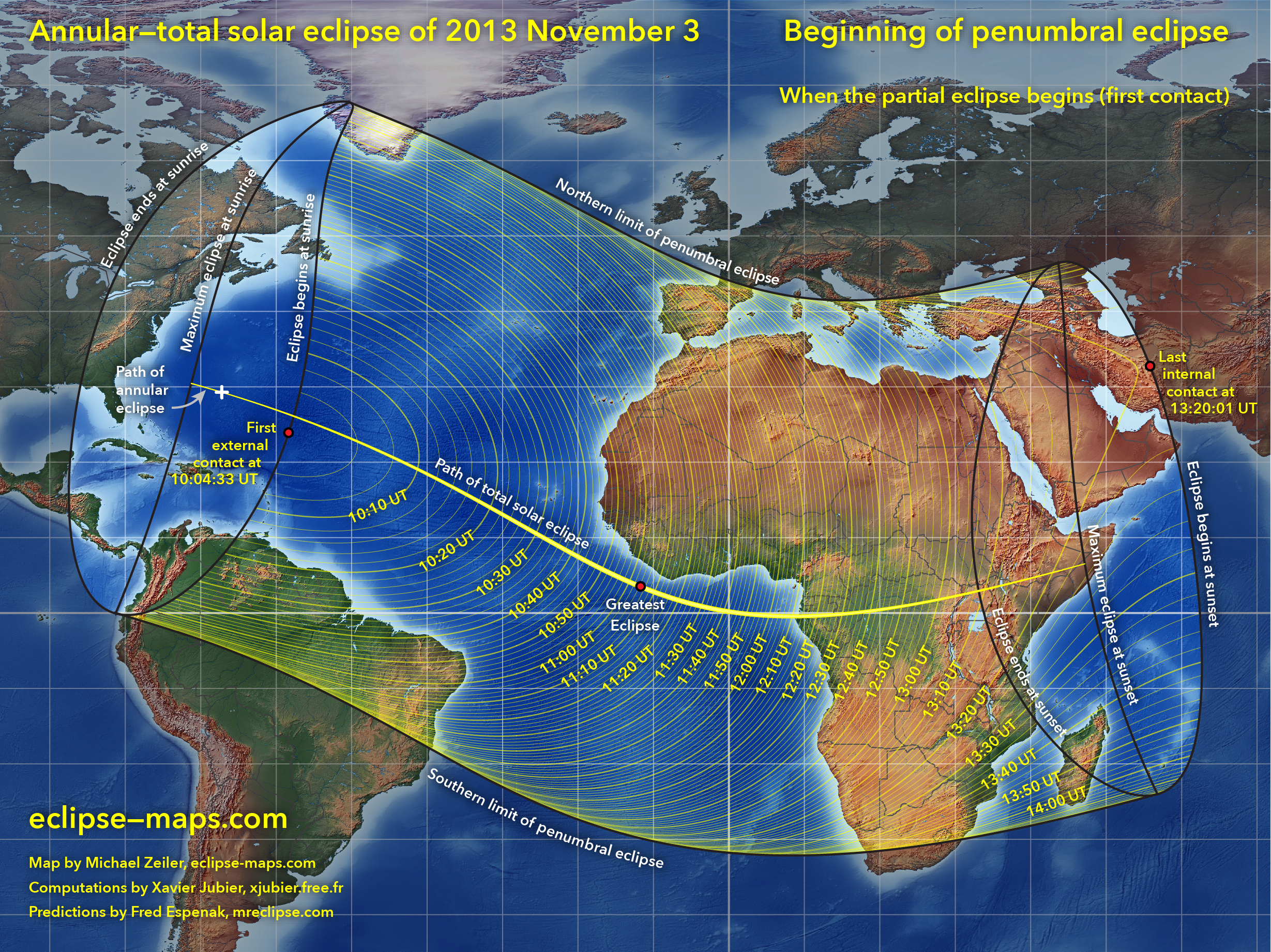 Annular Total Solar Eclipse Of