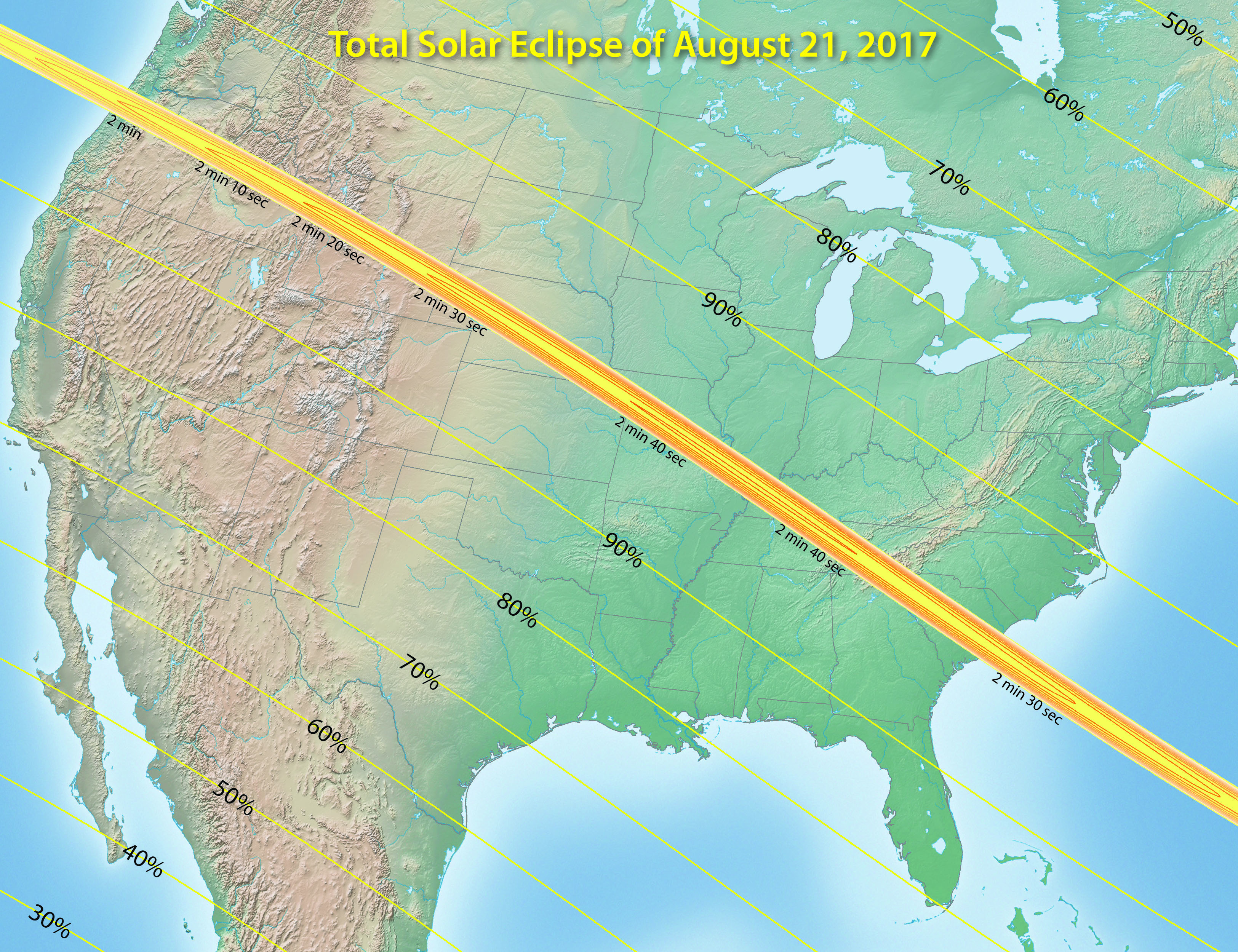 Welcome - Map of solar eclispe us 2017